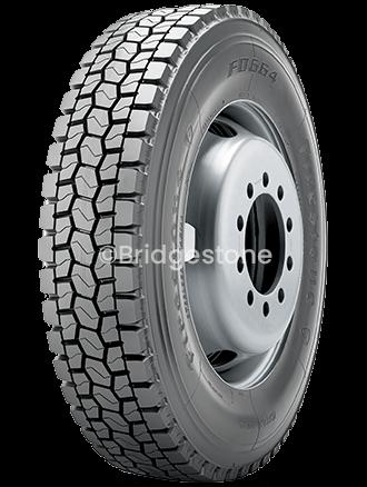 Bridgestone-FD664-45-degree-view