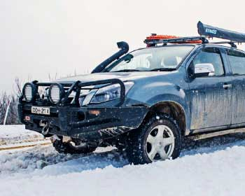 Best Tips For Preparing Your 4WD For A Snow Trip