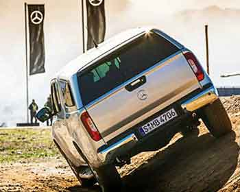 Mercedes-Benz X-Class Ute Boosts Appeal With Dueler H/P Sport