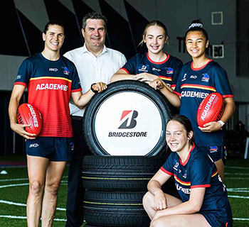 Crows, Bridgestone celebrate successful Academies program
