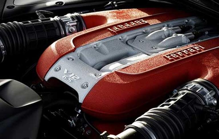 Ferrari 6.5-litre V12 engine