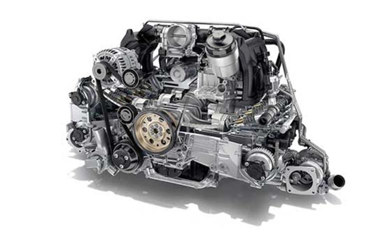 Porsche 4.0-litre six-cylinder engine