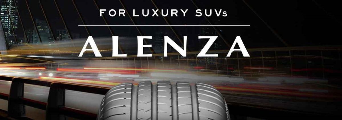 Bridgestone Alenza Luxury SUV's