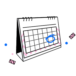 Product Page Calendar
