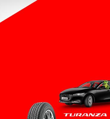 Up to $100 cash back on Bridgestone Turanza Serenity Plus tyre