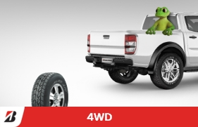 Up to $100 cash back on Dueler tyres