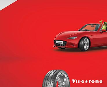 Up to $100 cash back on performance Firestone Firehawk Sport 01